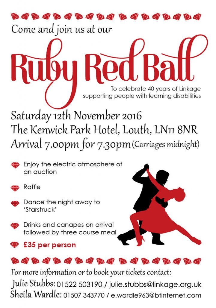 Ruby Ball Flyer