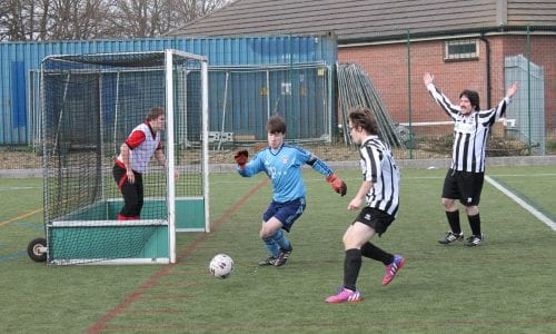 Latest Action from the Linkage Football League