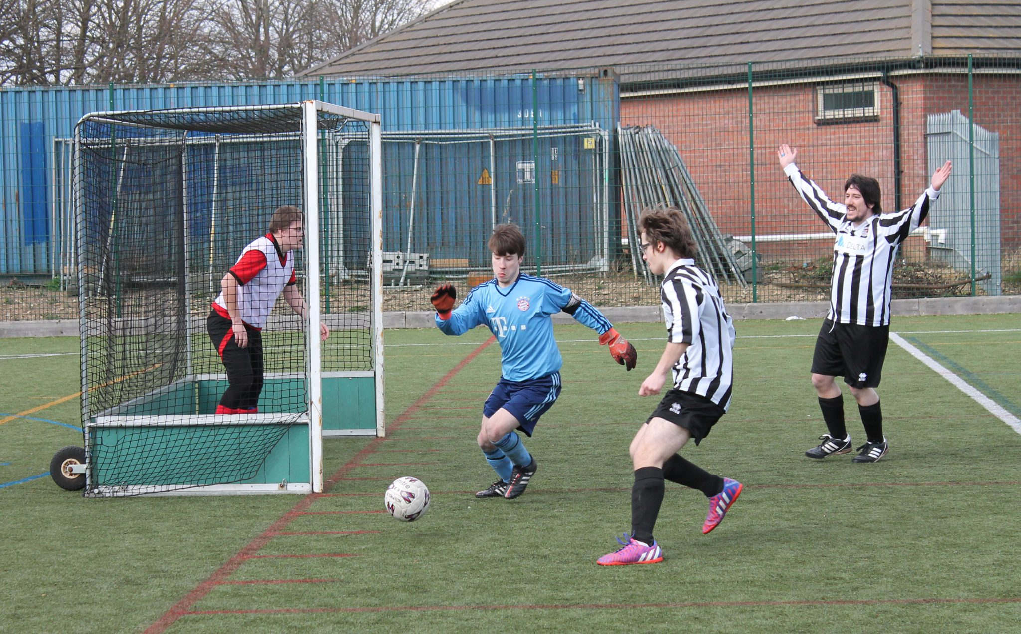 Latest Action From The Linkage Football League Linkage