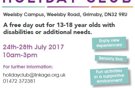 Free Places Available at Grimsby Holiday Club