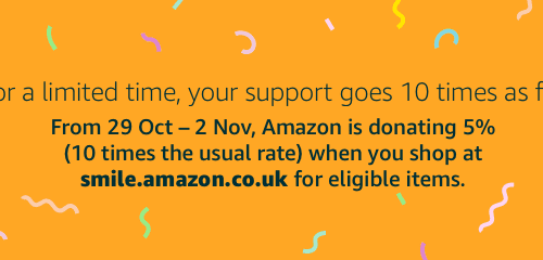 10 x Donations at Amazon Smile!