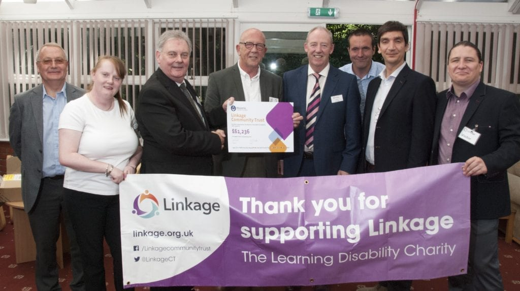 Grant Presentation from Lincolnshire Freemasons
