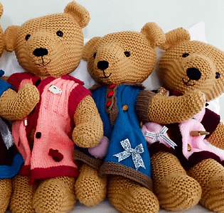 Twiddle Teddy Knitting Patterns