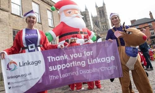 Join Team Linkage at Lincoln Santa Fun Run
