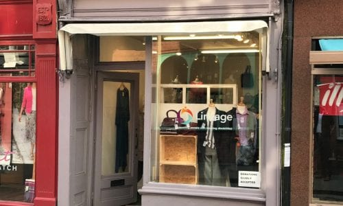 Linkage opens charity shop in historic Bailgate, Lincoln